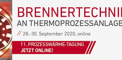 Online-Tagung: Brennertechnik an Thermoprozessanlagen