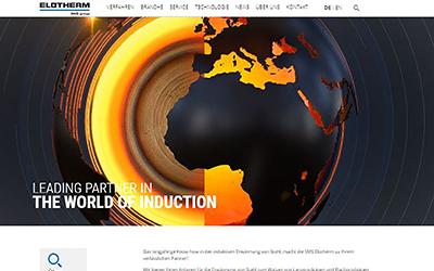 Neue Internetpräsenz der SMS Elotherm GmbH