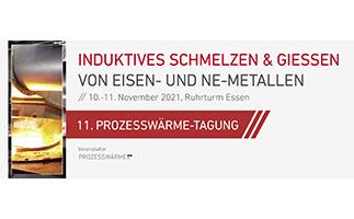 Induktives Schmelzen und Gießen von Eisen- und NE-Metallen