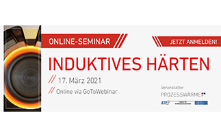 Online-Seminar Induktives Härten
