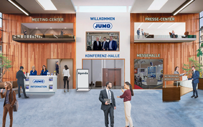 JUMO: Virtuelle Messe am 27. und 28. Januar 2021