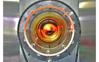 Faszination Technik: Quarzglas-Drehrohrofen für die Wärmebehandlung