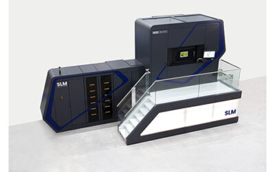 SLM Solutions stellt neue Selective Laser Melting Maschine mit 12 Lasern vor