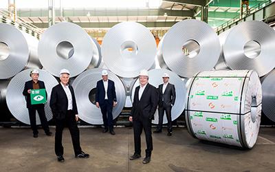 Salzgitter erweitert Portfolio um CO2-arme Stahlsorten