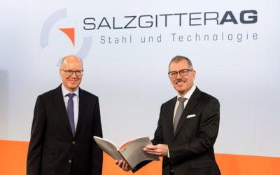 Salzgitter AG treibt Investitionsprojekte und Dekarbonisierungsoffensive weiter voran