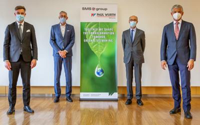 SMS group übernimmt die restlichen Anteile am Anlagenbauer Paul Wurth