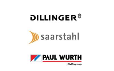 Offensive grüner Stahl: Saarstahl und Dillinger initiieren Pilotprojekt
