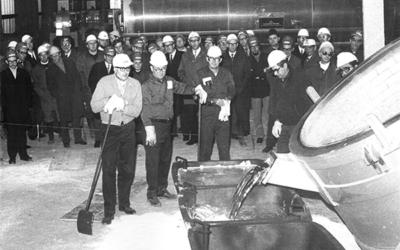 Trimet feiert Jubiläum der Aluminiumhütte in Voerde