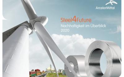 Steel4Future: ArcelorMittal Germany präsentiert seinen Nachhaltigkeitsüberblick 2020