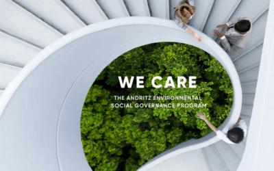 """Andritz veröffentlicht sein Nachhaltigkeitsprogramm """"We Care"""""""