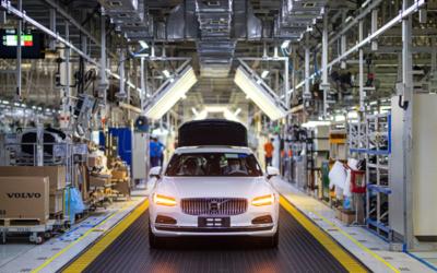 Fossilfreier Stahl von SSAB soll die Volvo Produktion nachhaltiger machen