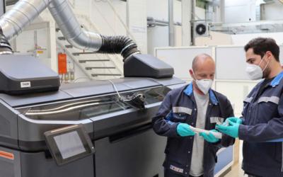 Volkswagen treibt Einsatz von innovativen 3D-Druckern in der Autoproduktion voran