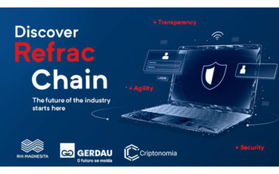 RHI Magnesita und Gerdau kooperieren bei der Nutzung von Blockchain-Technologie