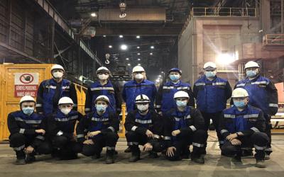 Çolakoğlu erteilt Endabnahme für ersten Teil der Modernisierung der Brammengießanlage