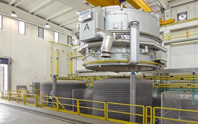 Trafilerie San Paolo bestellt Haubenofenanlage für Stahldraht von Ebner