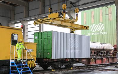 RHI Magnesita weiht Container-Terminal in Hochfilzen ein