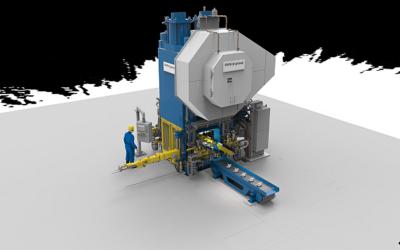 Fahrwerkskomponenten aus Aluminium: Hirschvogel bestellt Gesenkschmiedepresse