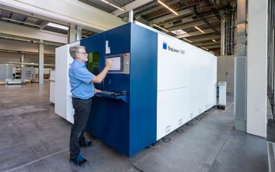 Trumpf bringt neue 2D-Laserschneidmaschine für Einsteiger auf den Markt